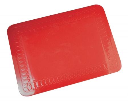 Tenura Mat - 25.5 x 18.5cm - Red