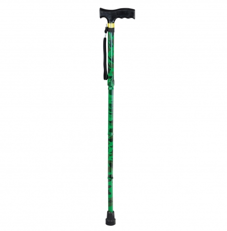 Camouflage Walking Stick in Wood