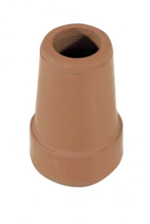 14mm Rubber Ferrule - Brown
