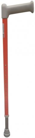 Adjustable Aluminium Walking Stick - Red