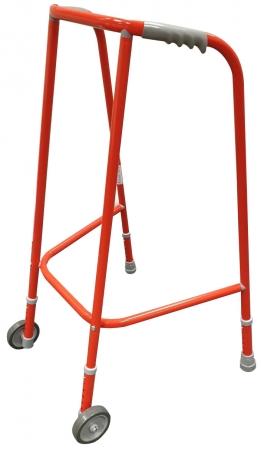 Adjustable Wheeled Frame - Red - 80-90cm