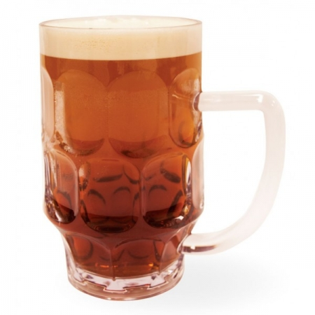 Unbreakable Beer Glass - 25oz - Pack of four