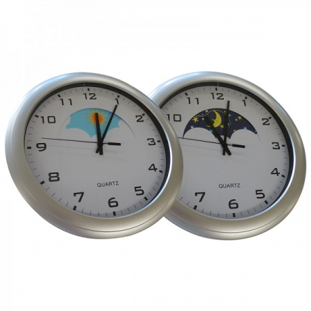 Day and Night clock for dementia and alzheimer's care