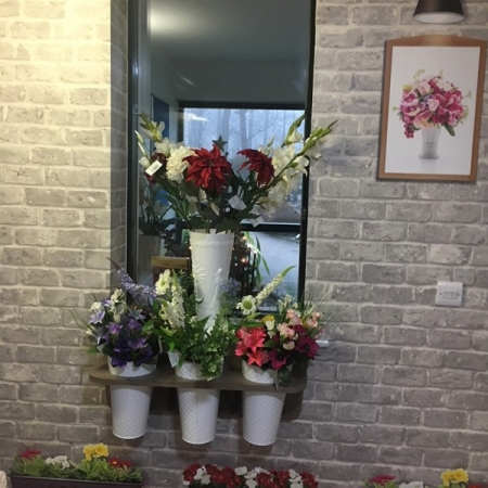 Flower Display Unit, including flowers