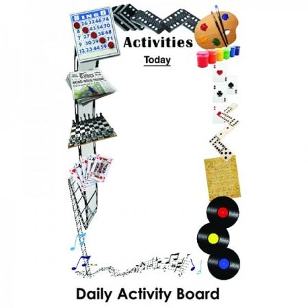 Daily Dementia Activity Board