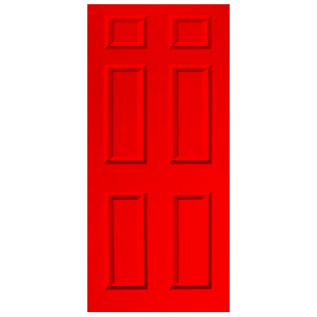 Door Decal - Dementia Friendly - Red