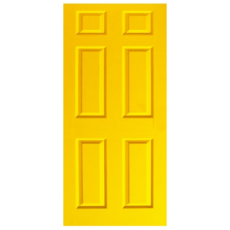 Door Decal - Dementia Friendly - Yellow